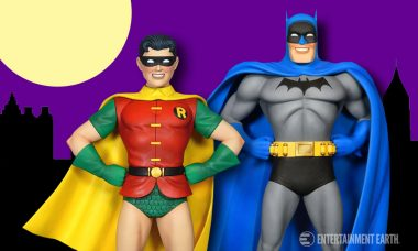 The Golden Age of Comics comes Back to Life through these Classic Batman and Robin Statues