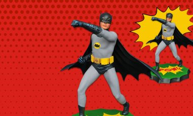 BOOM! POW! This 1966 Batman Statue's Left Cross Is Comically Powerful