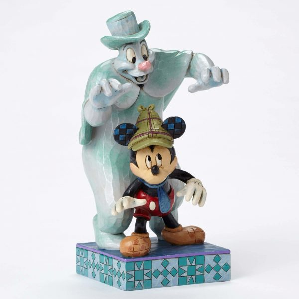 Mickey Mouse Lonesome Ghost Statue