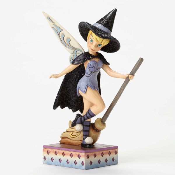 Disney Fairies Tinker Bell Witch Statue