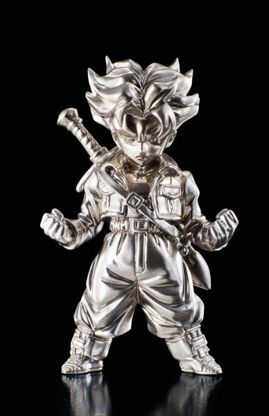 Dragon Ball Z Super Saiyan Trunks Absolute Chogokin Die-Cast Metal Mini-Figure