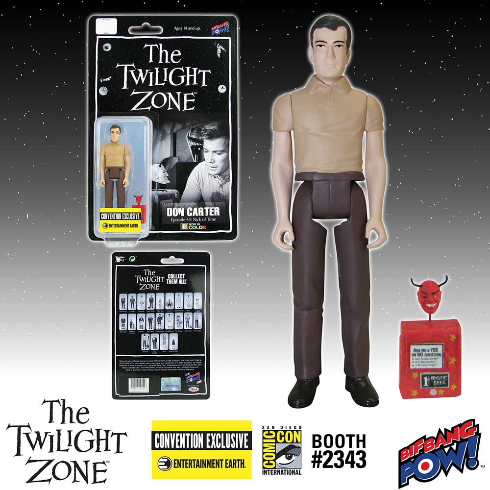 The Twilight Zone Don Carter 3 3/4-Inch Action Figure In Color - Convention Exclusive
