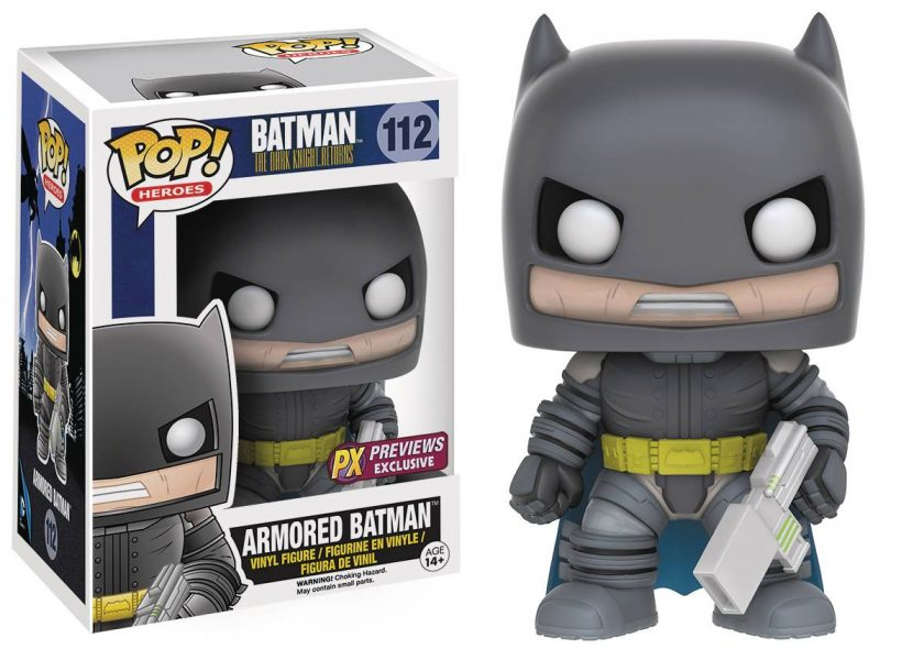 The Dark Knight Returns Armored Batman