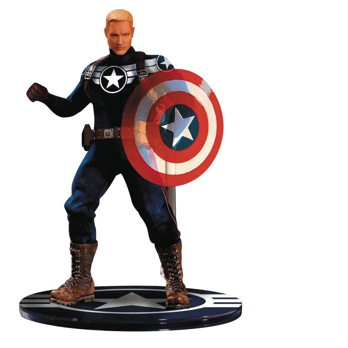 Mezco Captain America one:12 Action Figur