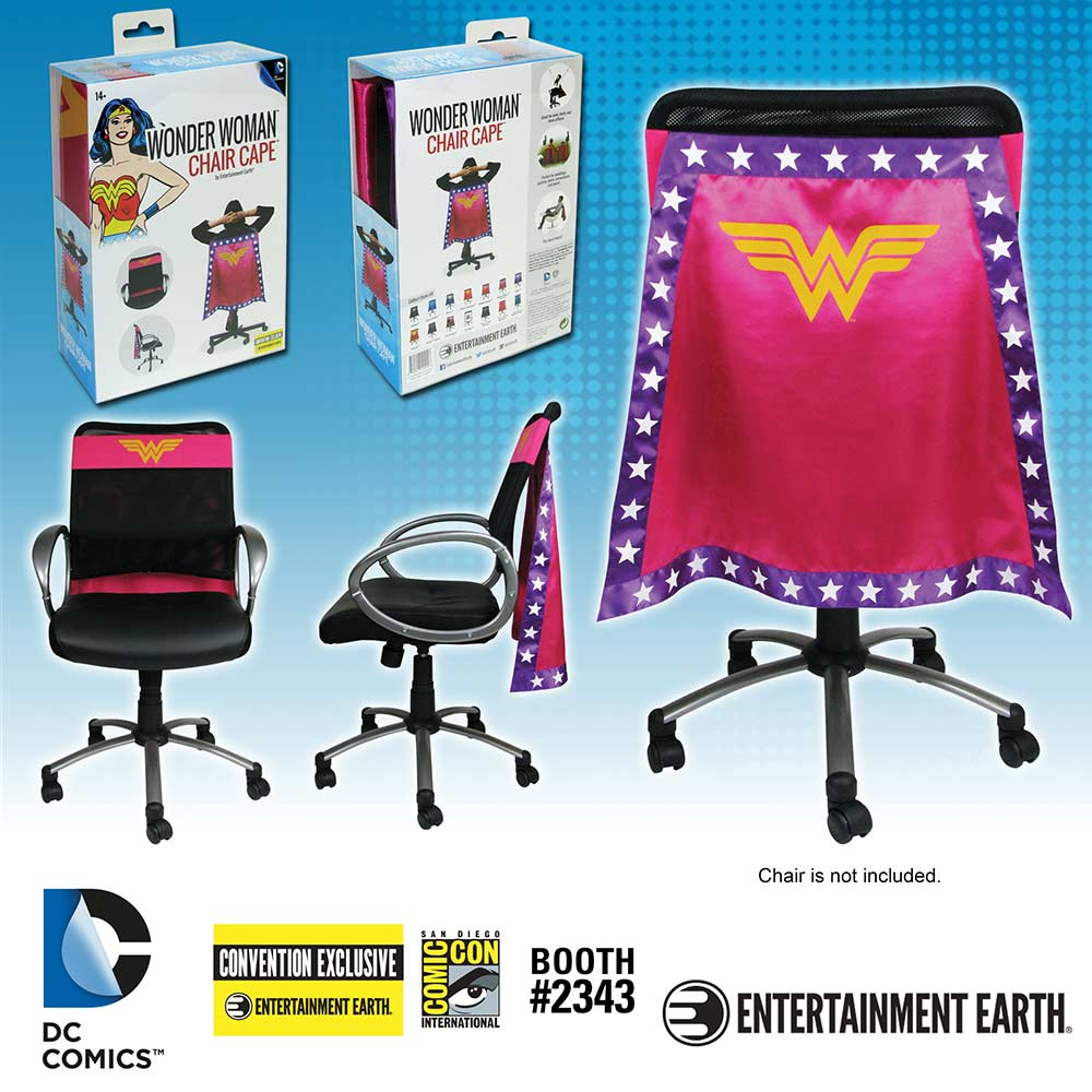 Exclusive Wonder Woman And Batman Beyond Chair Capes