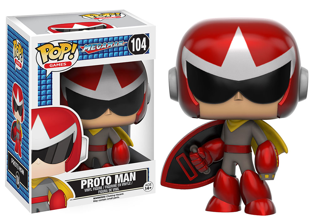 Power Up Your Collection With Mega Man Pop Vinyls