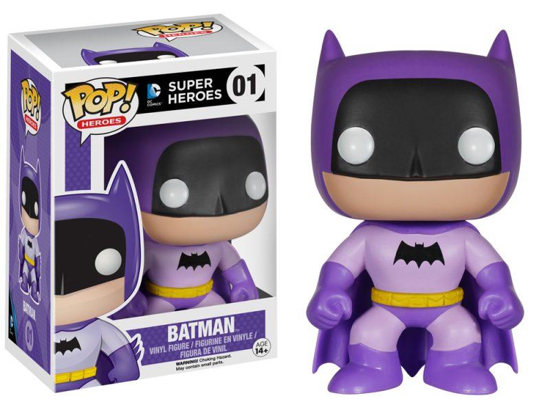 Rainbow Batman - Purple