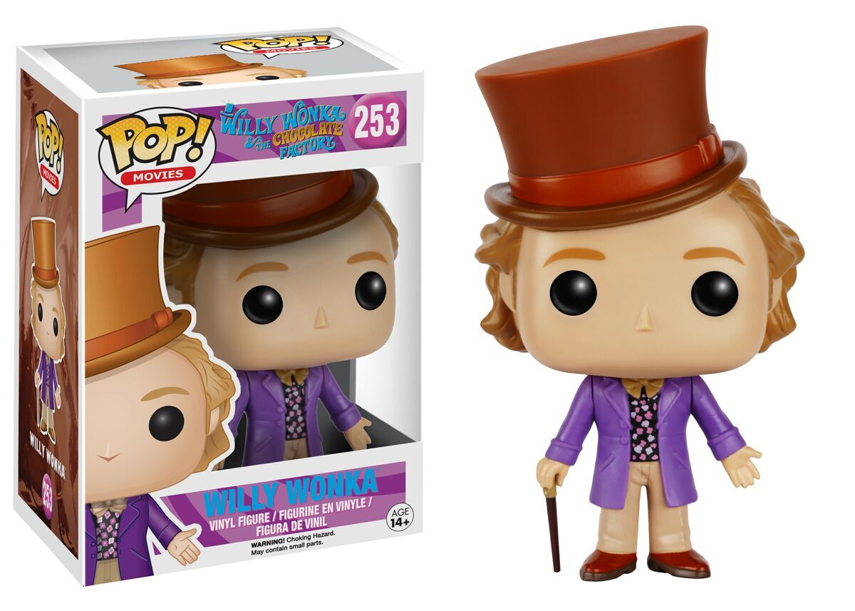 Oompa Loompa Doopity Do Pop Has Some Willy Wonka Figures