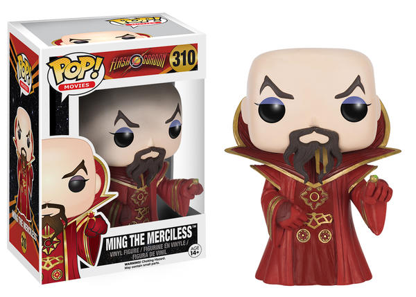 Flash Gordon Emperor Ming Pop! Vinyl Figure