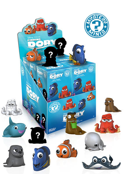 Finding Dory Mystery Minis Display Case