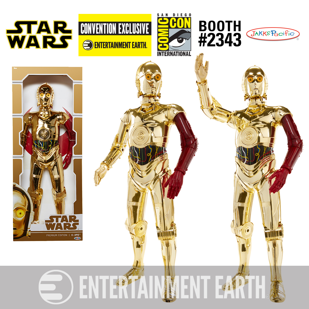 Star Wars: The Force Awakens Premium Edition Vac-Metal C-3PO 18-Inch Big Figs(TM) Action Figure - Convention Exclusive
