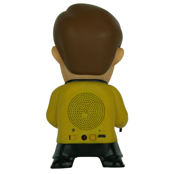 Captain Kirk Star Trek Speaker, Back