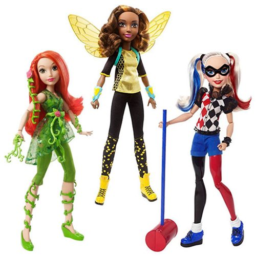 Superhero Dolls From Dc Mattel Team Up Here To Save The Day
