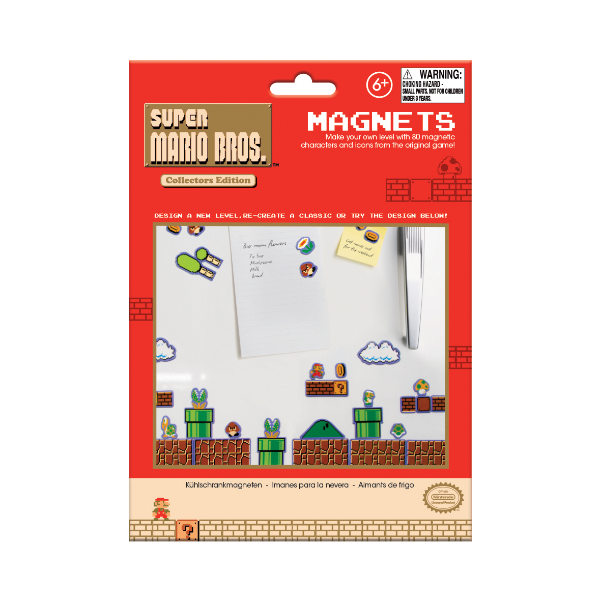 Super Mario Bros. Level Magnets