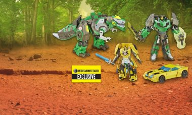 Exclusive! Bumblebee and Grimlock Are More than Meets the Eye