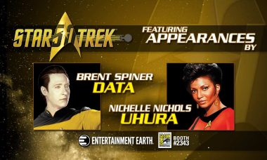 Celebrating 50 years, Select Star Trek™ Cast Members Scheduled For FREE Signings during San Diego Comic-Con 2016