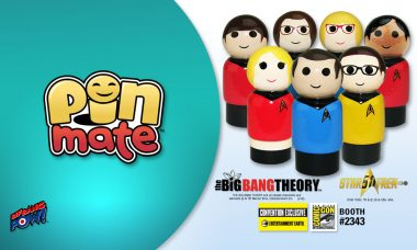 THE BIG BANG THEORY™ Beams into San Diego Comic-Con as Wooden Pin Mate™ Figures