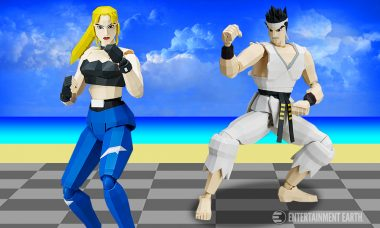 Relive Your Favorite Days at the Arcade with These Virtua Fighter Action Figures
