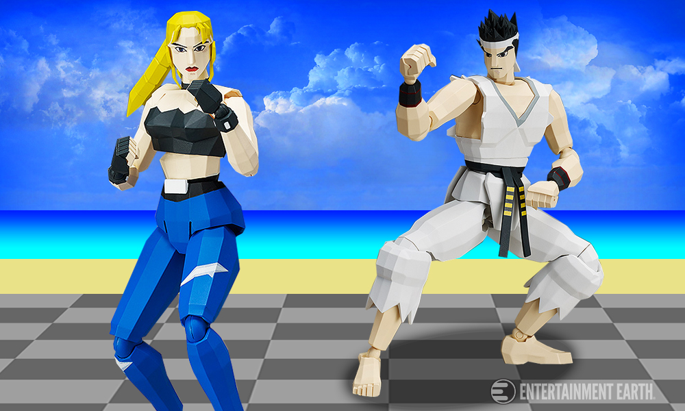 Virtua Fighter Sarah Bryant and Akira P2 Version Figma Action Figure