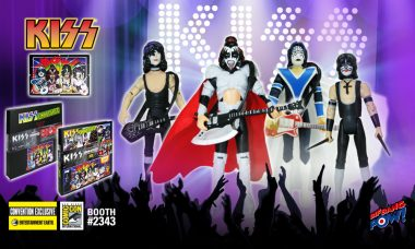 Deluxe Unmasked KISS Action Figure Set Will Rock San Diego Comic-Con 2016