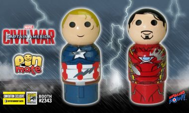 Whose Team Are You On? New Captain America vs. Iron Man Pin Mate Set!