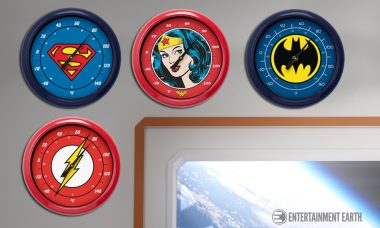 Be Your Own Weatherman With Superhero Wall Thermometers