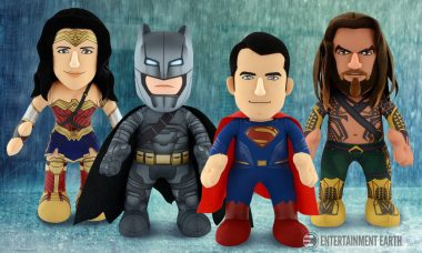 Stay Cozy with These Batman v Superman Plush Figures