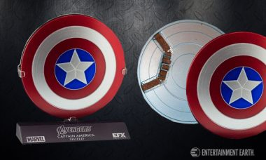 Defend Your Collection With the Captain America Prop Replica Shield!