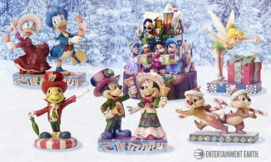 Celebrate The Yuletide With This Charming Series of Disney Statues