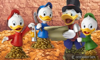 Grab On to These DuckTales Mini-Busts