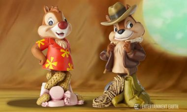 No Crime Too Small for Chip 'n Dale Rescue Rangers Mini-Busts!