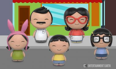 Bob's Burgers Dorbz Feature the Whole Belcher Family