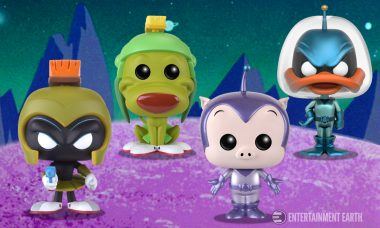 The Action and Adventure of Duck Dodgers Comes to Life as Pop! Vinyl Figures