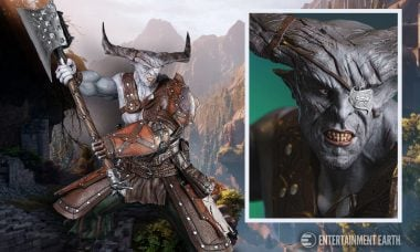 Iron Bull 1:4 Statue Towers Above Other Collectibles