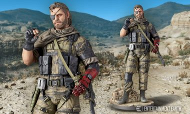 Venom Snake 1:6 Scale Statue Faithfully Captures Kojima's Design