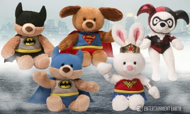 DC's Finest Get the Fun and Furry Treatment From Gund