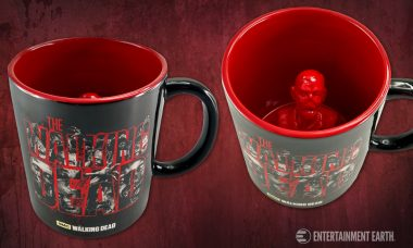 Feeling Like a Zombie in the Morning? This Walking Dead Mug Will Help