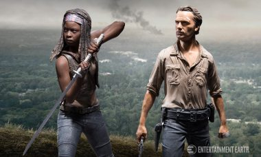 These Rick and Michonne Action Figures Will Help You Keep the Walkers at Bay