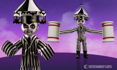 Living Dead Dolls Goes Big Top Burton-Style With This Beetlejuice Doll