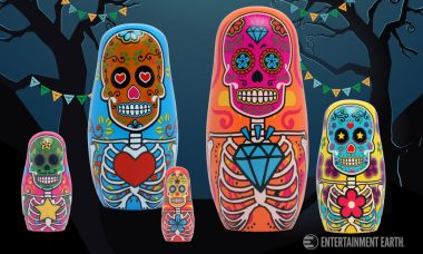 Día De Muertos Nesting Dolls Are a Wonderful Addition to Celebrations