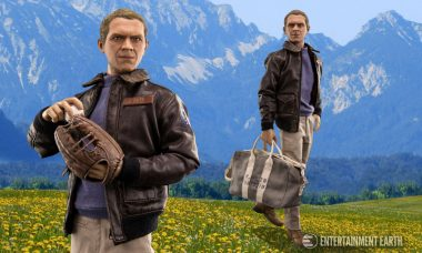 The Ultimate Action Star, Steve McQueen, Also Makes the Ultimate Action Figure