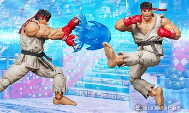 "You'll Shout ""Hadoken!"" Over This Ryu Action Figure"