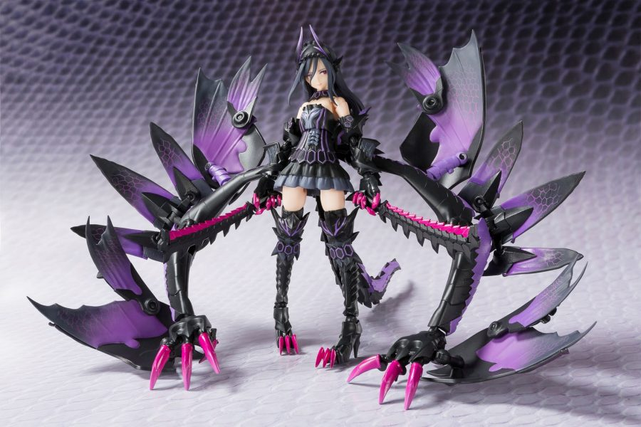 unleash your inner monster hunter with gore magala action figure. Black Bedroom Furniture Sets. Home Design Ideas