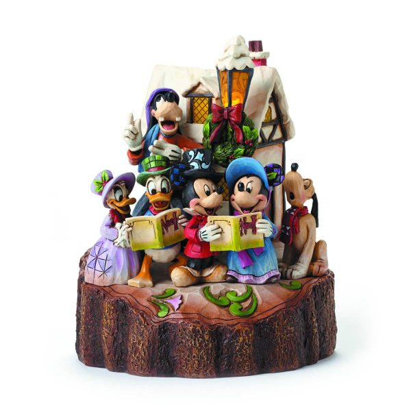 Disney Traditions Carved by Heart Statue