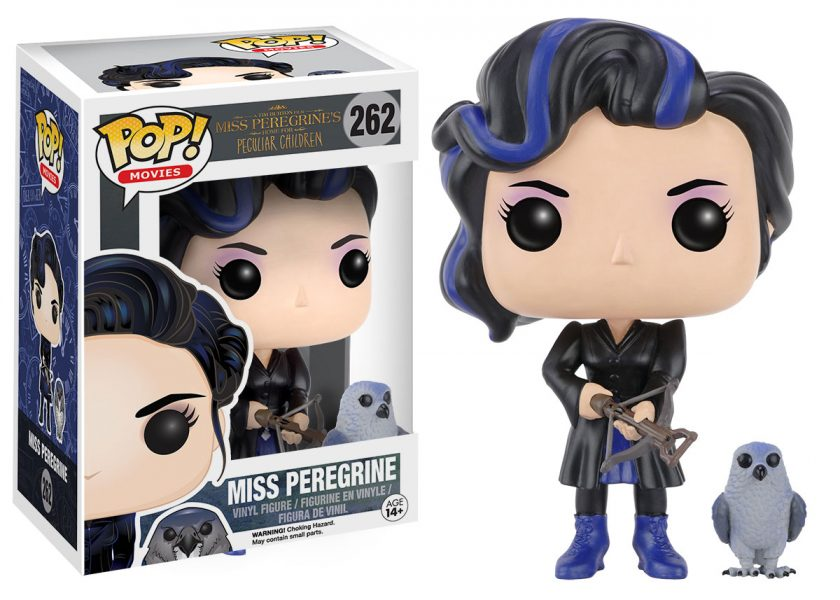 Miss Peregrines Home for Peculiar Children Miss Peregine and Owl Pop! Vinyl Figure