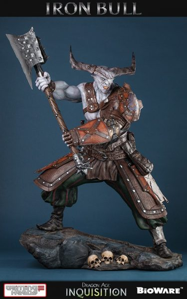 Iron Bull 1 4 Statue Towers Above Other Collectibles