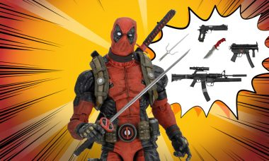 Hey, Fans! Deadpool's Here – And He Brought Toys!