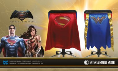 New Movie-Inspired WONDER WOMAN™ & SUPERMAN™ Chair Capes™