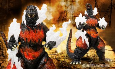 Godzilla SH MonsterArts Figure is Too Hot to Handle