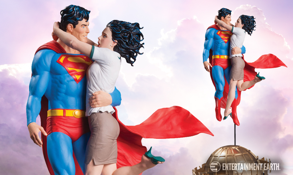DC Collectibles Superman and Lois Lane Statue